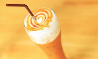 Frappuccino au caramel