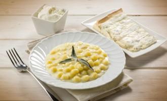 Gnocchis aux quatres fromages