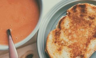 Soupe aux tomates et au lait